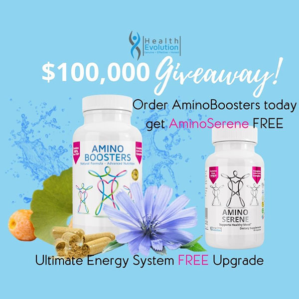 He $100k Giveaway #5 Aminoboosters With Free Aminoserene Square
